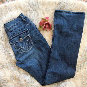 Wrangler Boot Cut Jeans 7/8